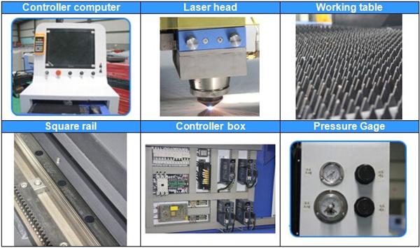 čínsky laserový rezací stroj 2