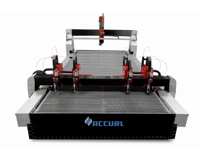 mini stroj na rezanie vodným lúčom